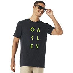 Oakley SC- Oakley Rundown Mens T-Shirt, Blackout, 256