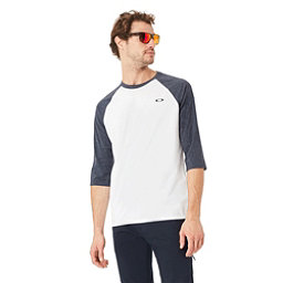 Oakley SO - DTP CIR FB Raglan Mens Shirt, White, 256