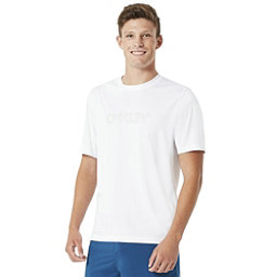 Oakley Short Sleeve Surf Tee Mens Rash Guard, White, 256