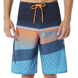 Oakley Gnarly Wave Mens Board Shorts, Fathom, 256