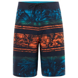 Oakley Temple Mens Board Shorts, Fathom, 256