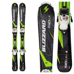 Blizzard Power Jr. Kids Skis with IQ 4.5 Bindings, , 256