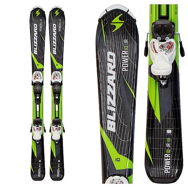 Blizzard Power Jr. Kids Skis with IQ 4.5 Bindings, , 600