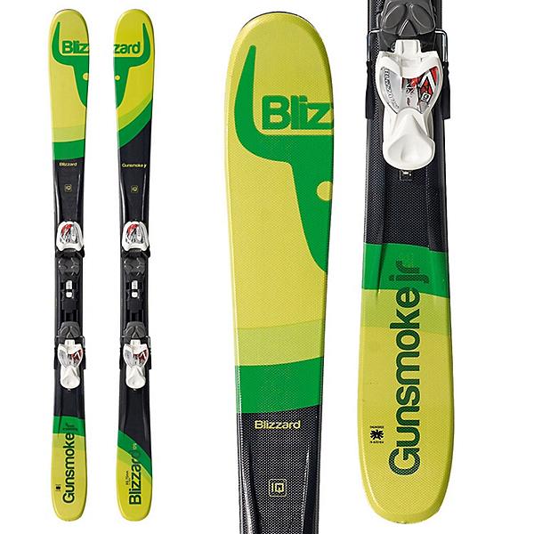 Blizzard Gunsmoke Jr. Kids Skis with IQ 7.0 Bindings, , 600