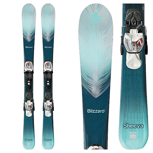 Blizzard Sheeva Twin Jr. Kids Skis with IQ 7.0 Bindings, , 600