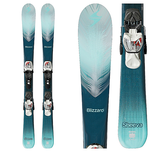Blizzard Sheeva Twin Jr. Kids Skis with IQ 4.5 Bindings, , 600