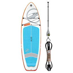 Boardworks Surf SHUBU 9'6 Inflatable Fiberglass Traveler Ankle Leash Package 2018, , 256