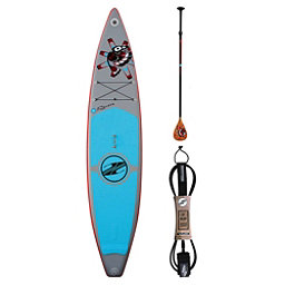 Boardworks Surf Raven 12'6 Inflatable Raven Ankle Leash Package 2018, , 256