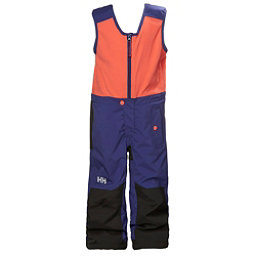 Helly Hansen K Powder Bib Pants Girls Ski Pants, Lavender, 256