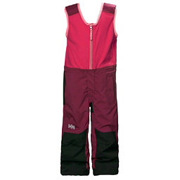 Helly Hansen K Powder Bib Pants Girls Ski Pants, Plum, 256