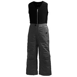 Helly Hansen K Powder Bib Pants Girls Ski Pants, Ebony, 256