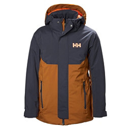 Helly Hansen JR Univers Boys Ski Jacket, Cinnamon, 256