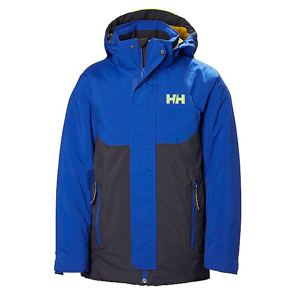 Helly Hansen JR Univers Boys Ski Jacket, Graphite Blue, 600