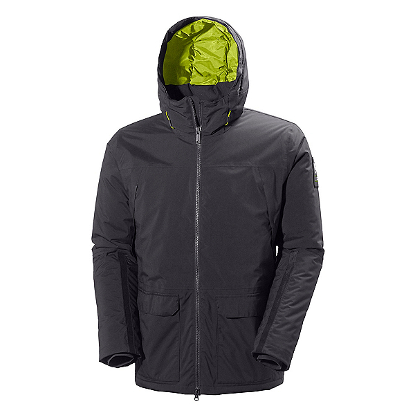Helly Hansen Shoreline Parka Mens Jacket, Ebony, 600