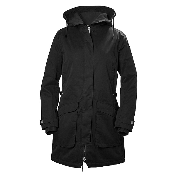 Helly Hansen Kara Parka Womens Jacket, Black, 600