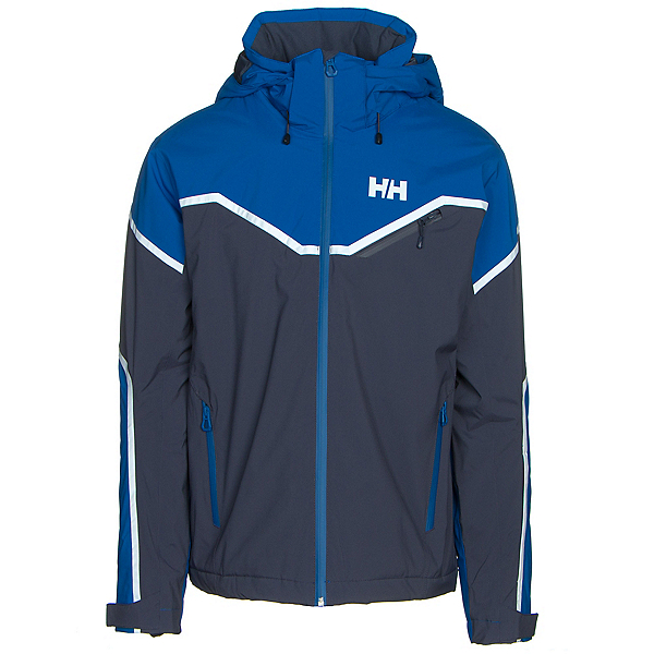 Helly Hansen Roc Mens Insulated Ski Jacket, Olympian Blue, 600