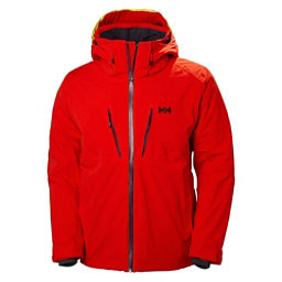 Helly Hansen Lightning Mens Insulated Ski Jacket, Alert Red, 256