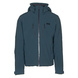 Helly Hansen Lightning Mens Insulated Ski Jacket, Midnight Green, 256