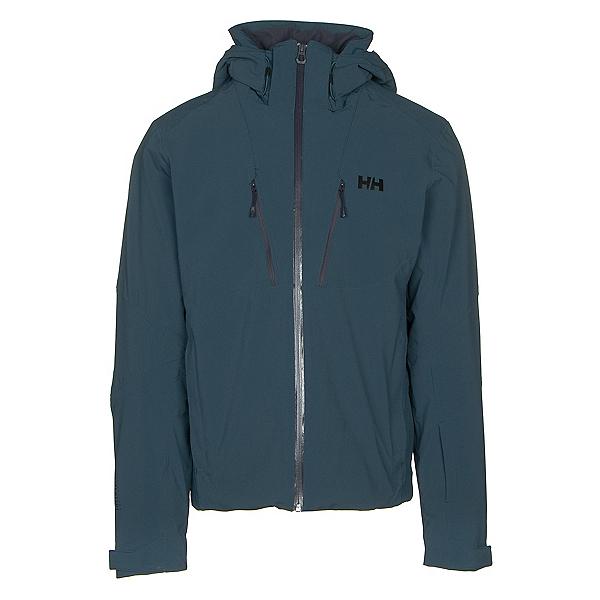 Helly Hansen Lightning Mens Insulated Ski Jacket, Midnight Green, 600