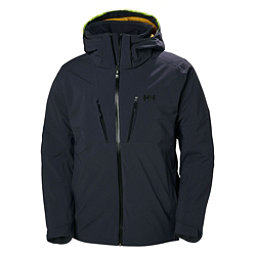 Helly Hansen Lightning Mens Insulated Ski Jacket, Graphite Blue, 256