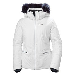 Helly Hansen Whitestar Womens Insulated Ski Jacket, White, 256