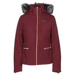 Helly Hansen Whitestar Womens Insulated Ski Jacket, Port, 256