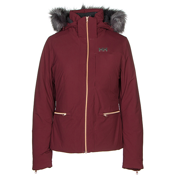 Helly Hansen Whitestar Womens Insulated Ski Jacket, Port, 600