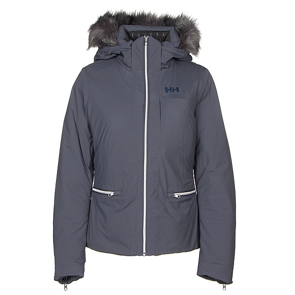 Helly Hansen Whitestar Womens Insulated Ski Jacket, Graphite Blue, 600