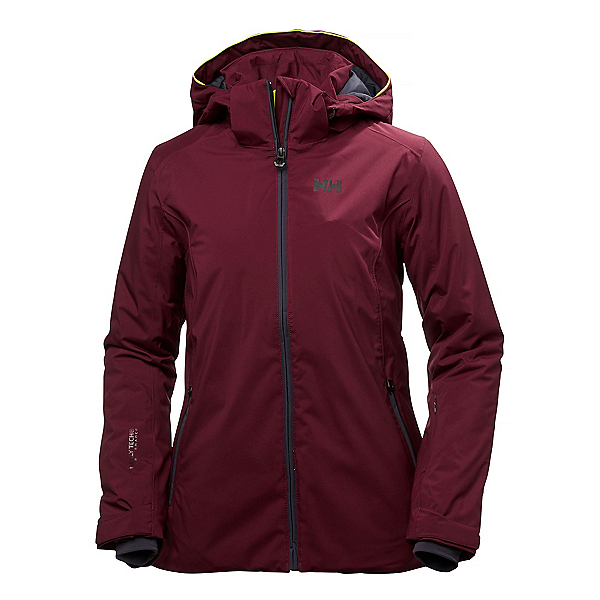 Helly Hansen Spirit Womens Insulated Ski Jacket, Port, 600