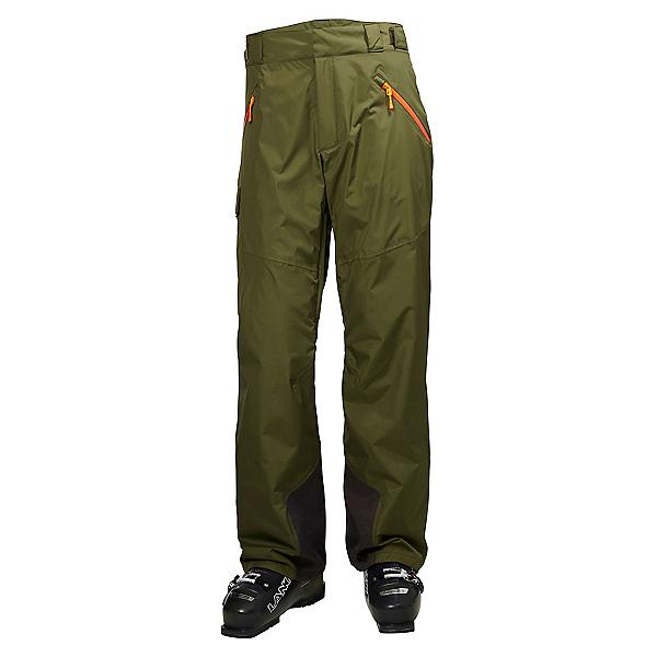 Helly Hansen Selkirk Mens Ski Pants, Ivy Green, 600