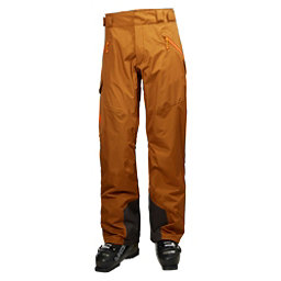 Helly Hansen Selkirk Mens Ski Pants, Cinnamon, 256
