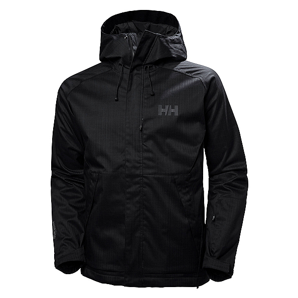 Helly Hansen Toronto Mens Insulated Ski Jacket, Black, 600