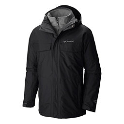 Columbia Bugaboo Interchange Plus Mens Insulated Ski Jacket, Black, 256