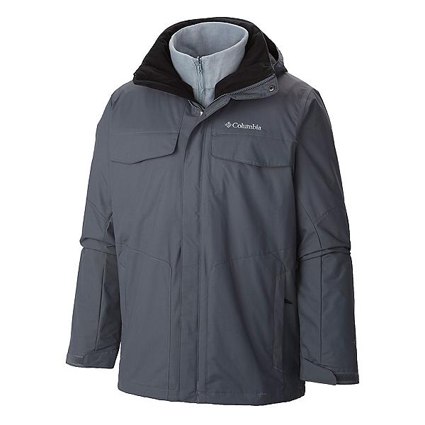 Columbia Bugaboo Interchange Plus Mens Insulated Ski Jacket, Graphite, 600