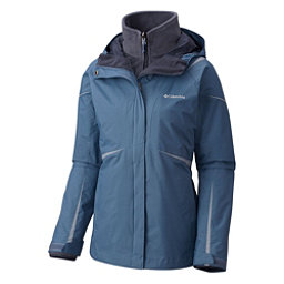 Columbia Blazing Star Interchange Womens Insulated Ski Jacket, Mountain, 256
