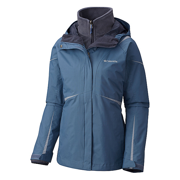 Columbia Blazing Star Interchange Womens Insulated Ski Jacket, Mountain, 600