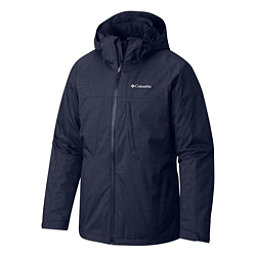 Columbia Whirlibird Interchange Mens Insulated Ski Jacket, Collegiate Navy, 256