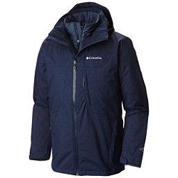 Columbia Whirlibird Interchange Mens Insulated Ski Jacket, Collegiate Navy Melange, 256