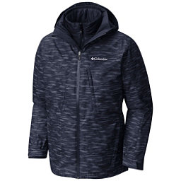 Columbia Whirlibird Interchange Mens Insulated Ski Jacket, Collegiate Navy Texture, 256