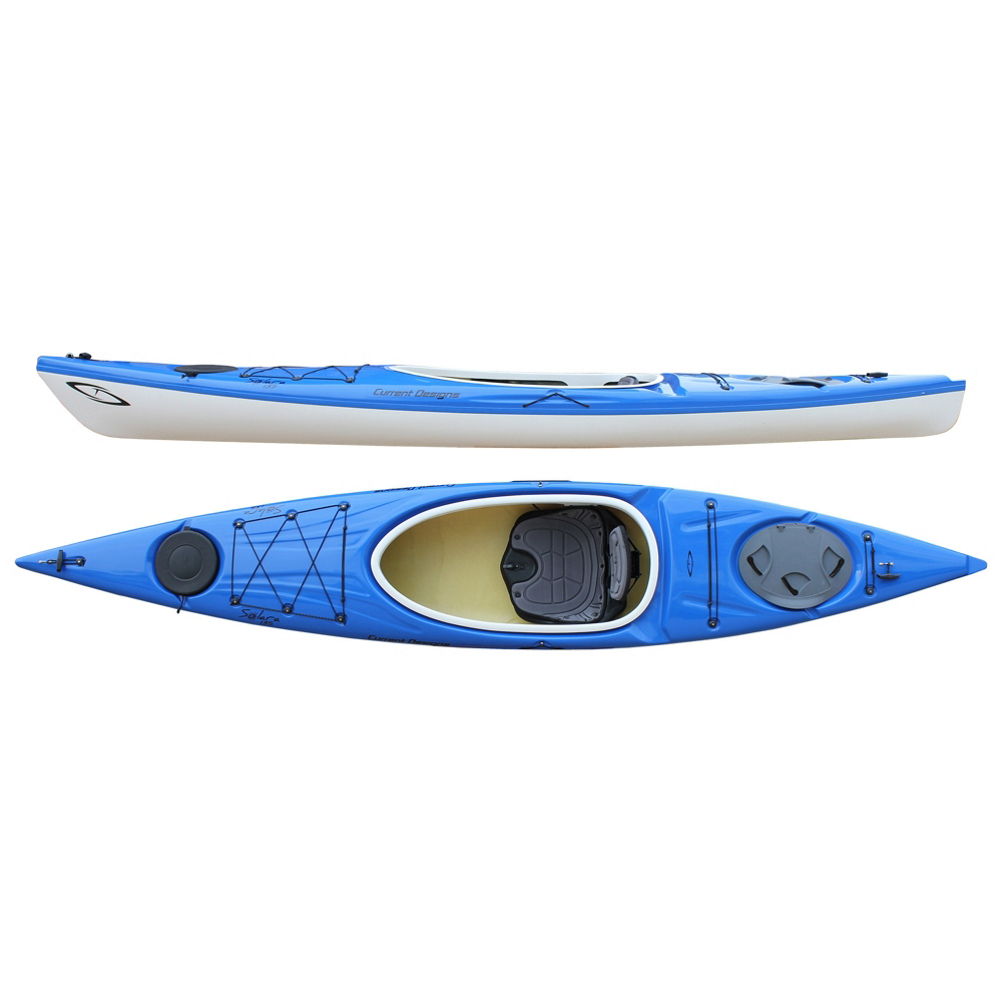 Current Designs Solara 135 Kayak im test