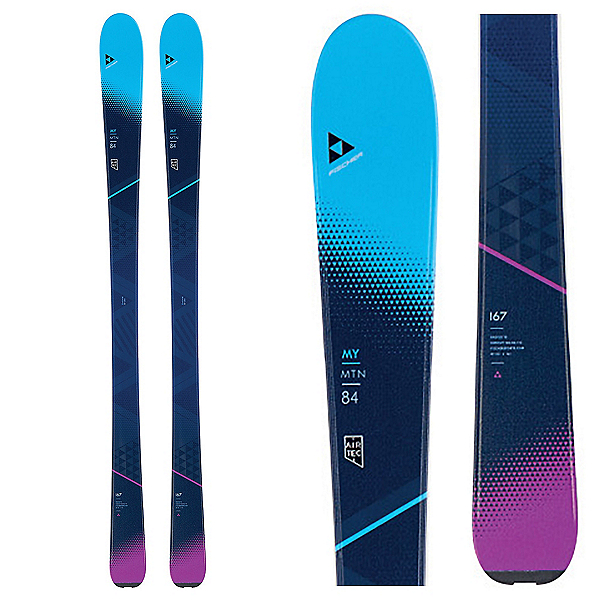 Fischer My Mountain 84 Womens Skis 2018, , 600