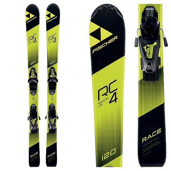 Fischer RC4 Race Jr. Kids Skis with FJ4 Bindings, , 600