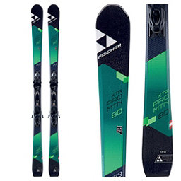 Fischer XTR Pro MTN 80 RT Womens Skis with MBS 10 Powerrail Bindings 2018, , 256