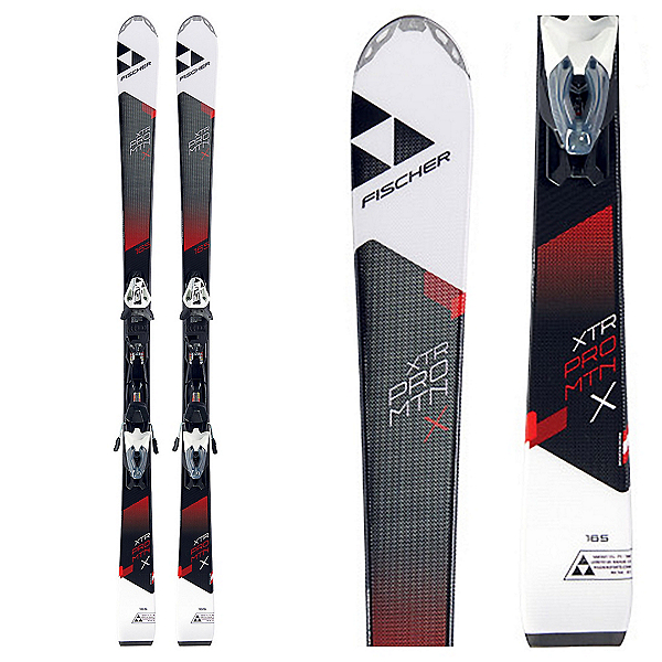 Fischer XTR Pro MTN X RT Skis with RS 10 Powerrail Bindings 2018, , 600