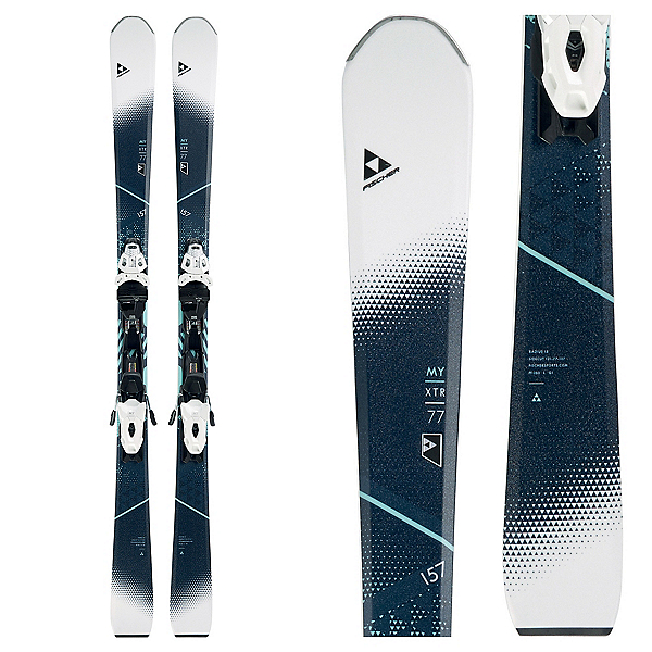 Fischer XTR My MTN 77 RT Womens Skis with MBS 10 Bindings 2018, , 600