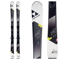Fischer XTR Pro MTN 77 RT Skis with Bindings 2018, , 256