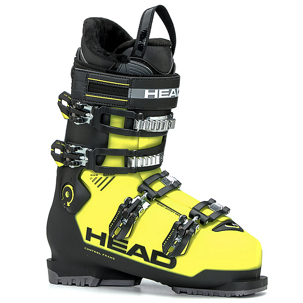 Head Advant Edge 85 HT Ski Boots 2018, Yellow-Black, 600
