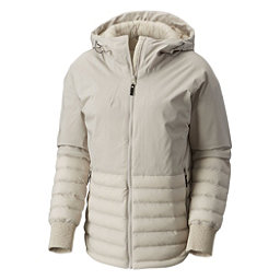 Columbia Open Site Hybrid Womens Jacket, Light Cloud, 256
