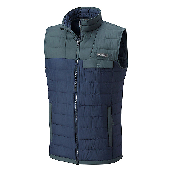 Columbia Mountainside Full Zip Mens Vest, , 600