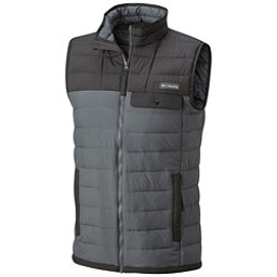 Columbia Mountainside Full Zip Mens Vest, Graphite, Shark, 256